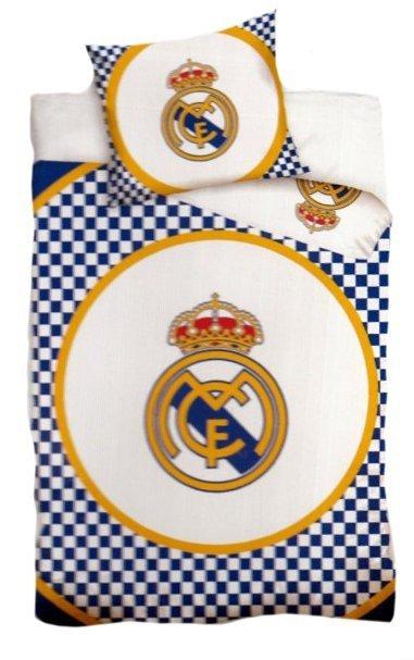 Pościel sportowa licencyjna 100% bawełna 160x200 - Real Madrid 8023