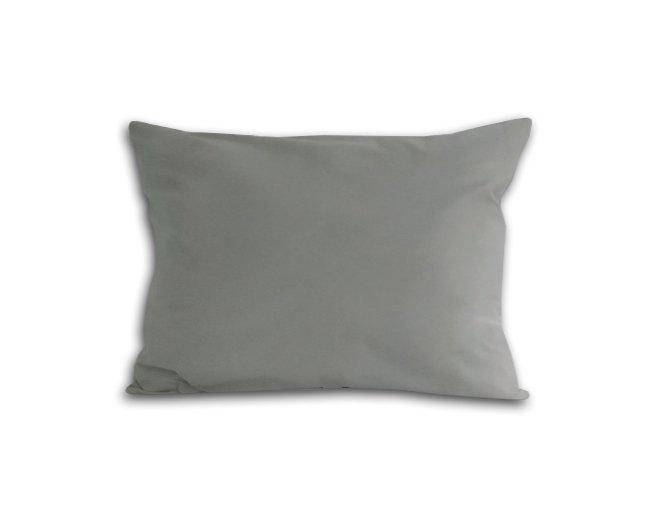 Poszewka na poduszkę 70x80 - 100% bawełna satynowa DARYMEX, zapięcie na zamek wz. popiel 024