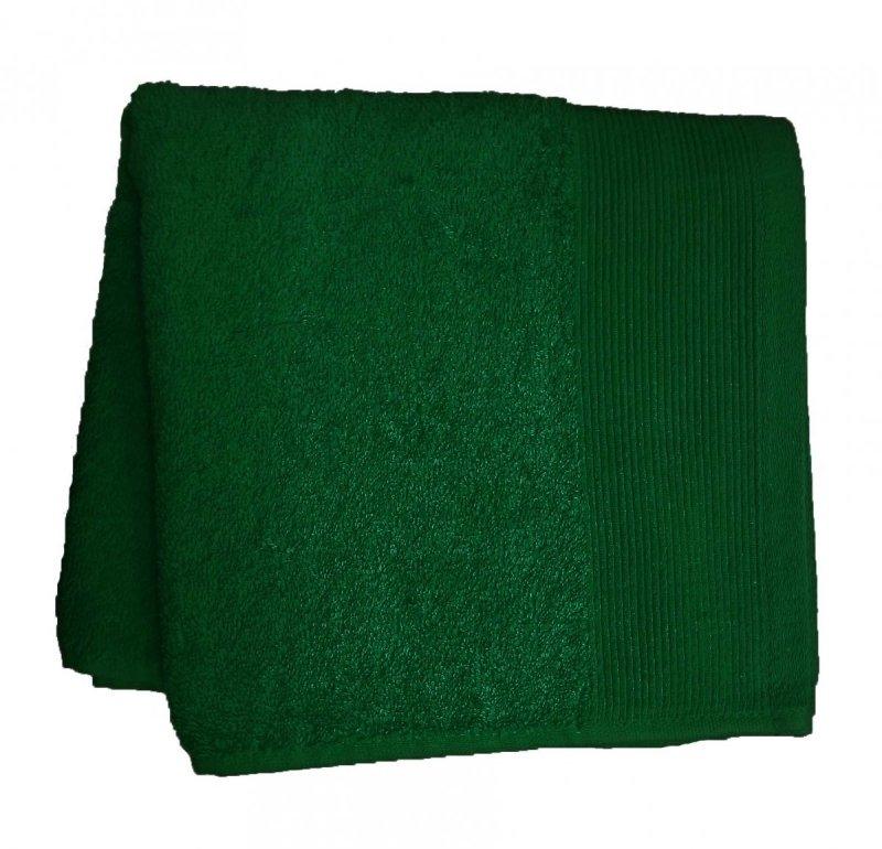 Ręcznik AQUA rozmiar 50x100 wz. zieleń butelkowa