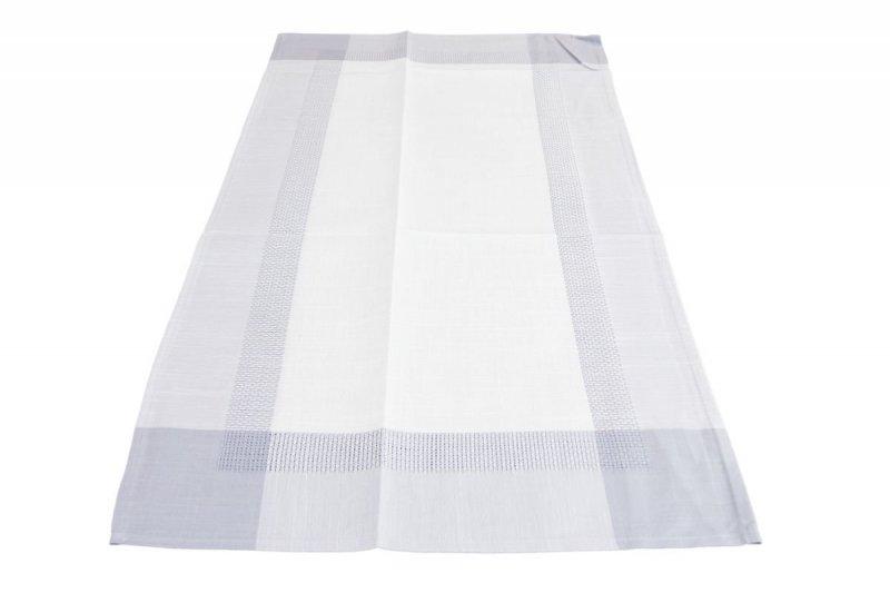 Obrus teflonowy rozmiar 40x150 wzór krem/szary (250)