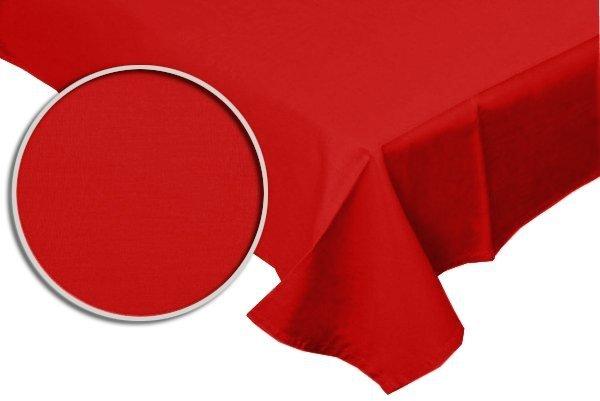 Prześcieradło RUBIN 100% bawełna 160x220 bez gumki wz. czerwony