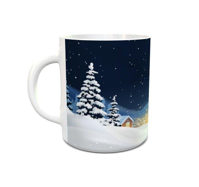 Kubek na Święta Bożego Narodzenia 330ml wz. 12