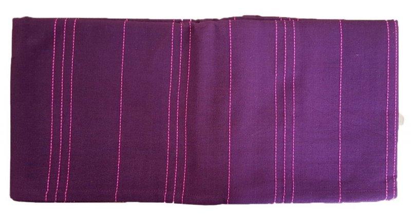 Obrus bawełniany sym.231 Rozmiar: 120x160 fioletowy