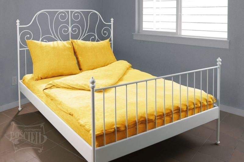 Pościel Frotte wz. 06 żółty rozmiar 140x200