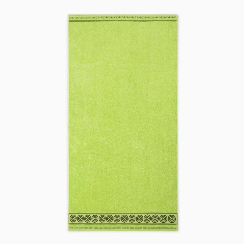 Ręcznik frotte Rondo 70x140 kolor zieleń wiosenna
