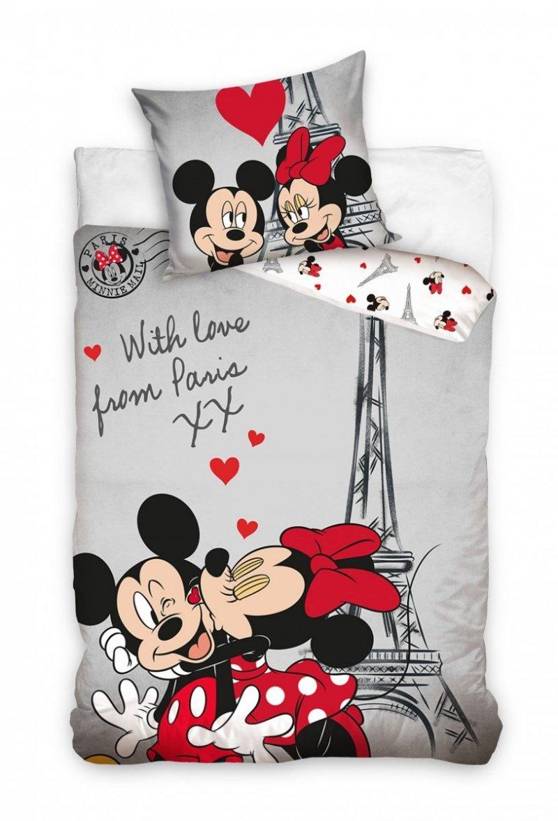 Pościel licencyjna Disney 100% bawełna 160x200 lub 140x200 - wz. Minnie Mouse 208003