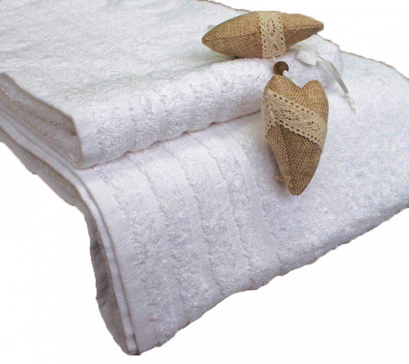 Ręcznik Hotelowy Andropol Ekonomik 450  z bordiurą roz. 50x100