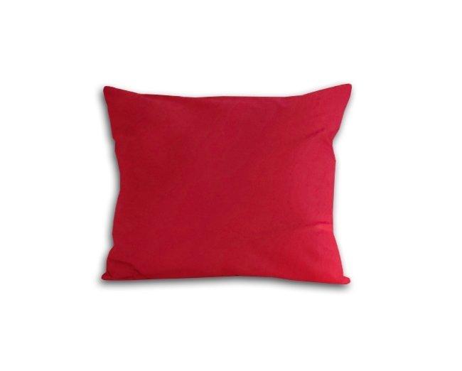 Poszewka na poduszkę 50x60 - 100% bawełna satynowa DARYMEX, zapięcie na zamek wz. czerwony 029