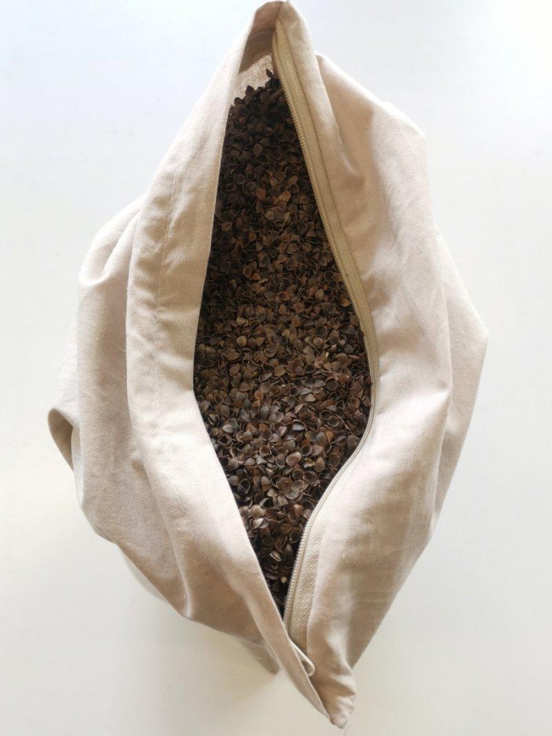 Poduszka z łuską gryki 30x50