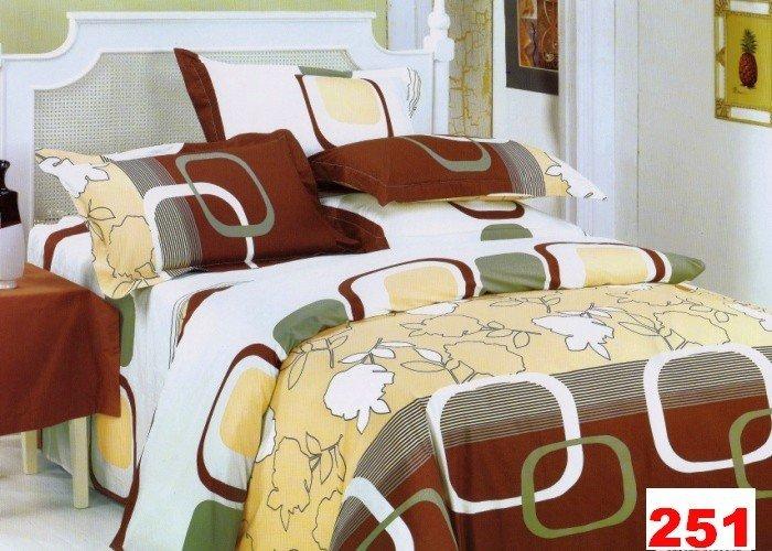 Poszewki na poduszki 40x40 bawełna satynowa wz. 0251