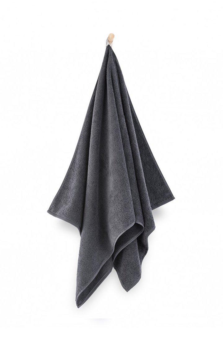 Ręcznik z bawełny egipskiej KIWI 2 70x140 wz. grafitowy