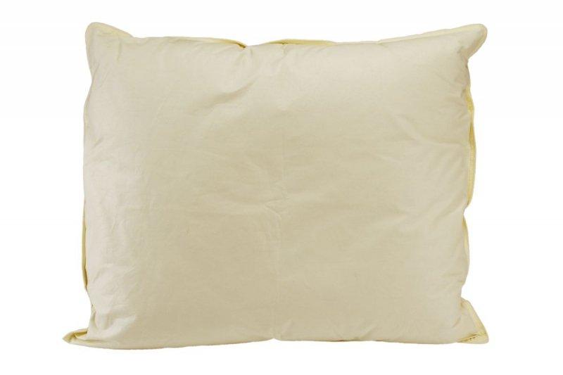 Poduszka puchowa 50x60 wz. kremowy