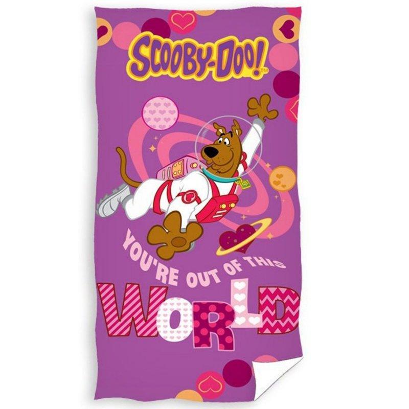 Ręcznik plażowy Scooby-Doo - rozmiar 70x140