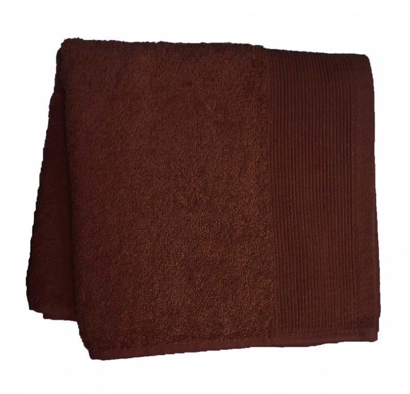 Ręcznik  AQUA rozmiar 50x100 wz. brązowy