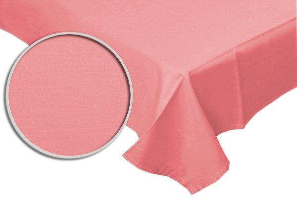 Prześcieradło RUBIN 100% bawełna 160x220 bez gumki wz. róż
