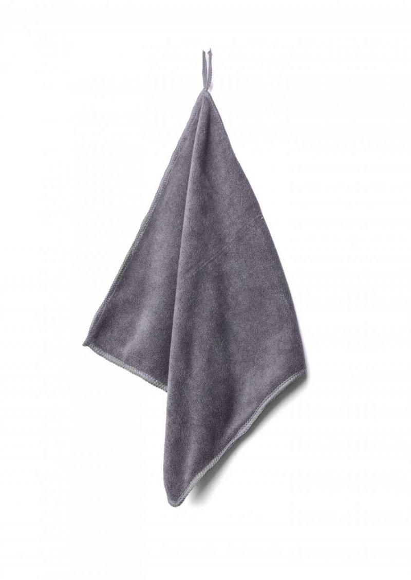 Ręcznik szybkoschnący 30x30 mikrofibra szary