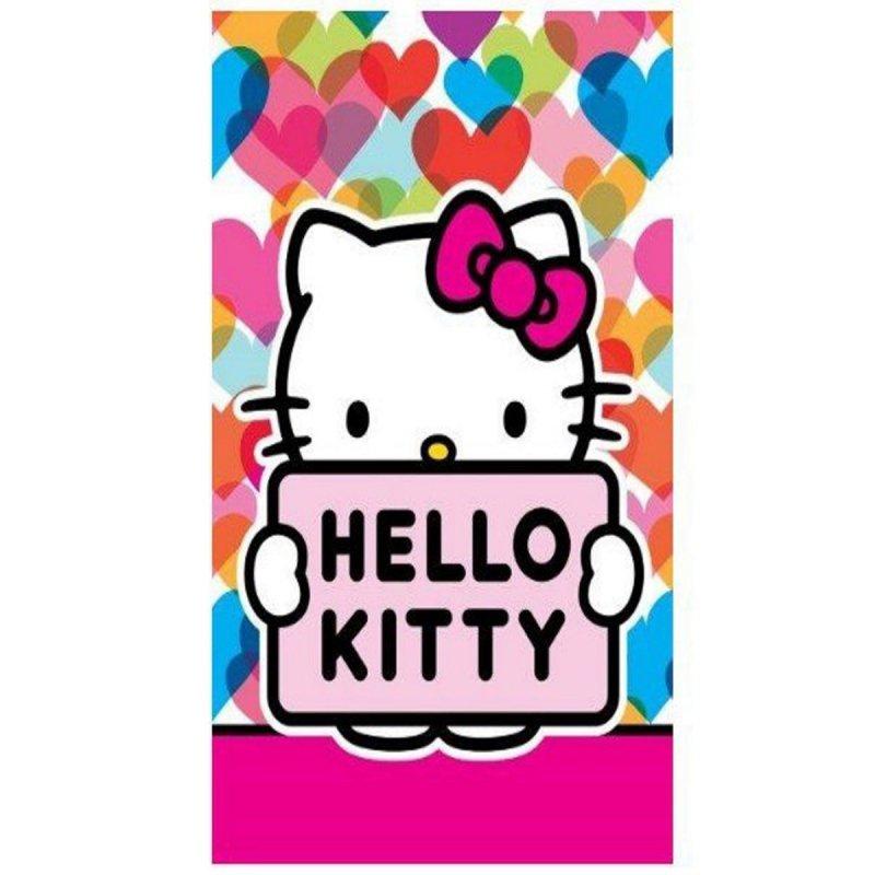 Ręcznik licencyjny -  Hello Kitty - rozmiar 40x60 wz hk 06 t
