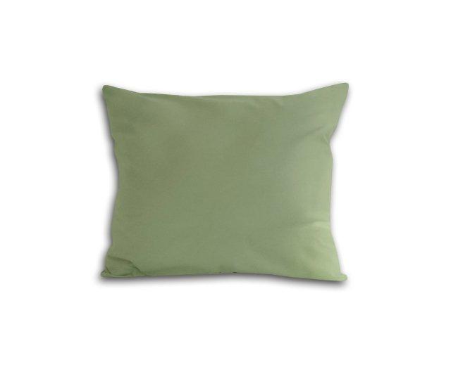 Poszewka na poduszkę 50x60 - 100% bawełna satynowa DARYMEX, zapięcie na zamek wz. oliwka