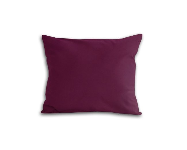 Poszewka na poduszkę 50x60 - 100% bawełna satynowa DARYMEX, zapięcie na zamek wz. fiolet 361