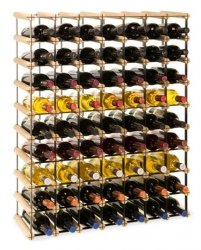 Weinregal Varianten für 7 bis 63 Flaschen Serie RW-8-7