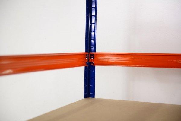 Metallregal Werkstatt Schwerlastregal Helios 180x110x30_5 Böden, Tragkraft bis 400 Kg pro Boden,  Viele Farben zur Auswahl