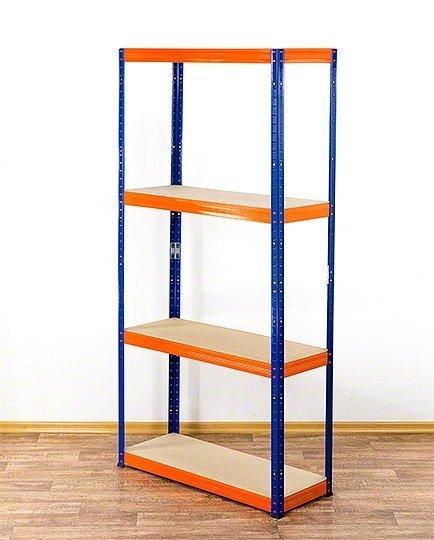 Metallregal Werkstatt Schwerlastregal Helios 180x100x40_4 Böden, Tragkraft bis 400 Kg pro Boden,  Viele Farben zur Auswahl