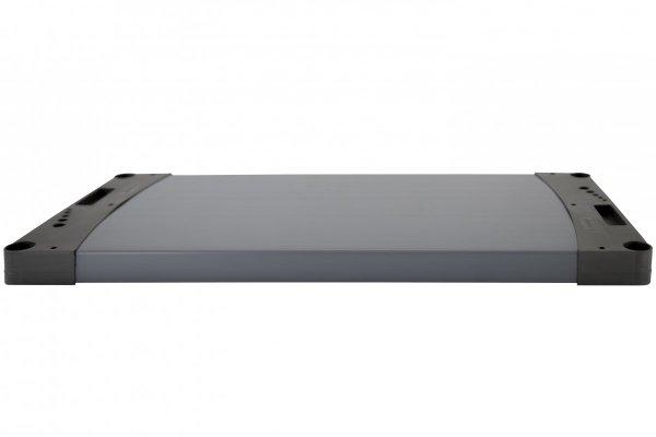 Zusatzboden zu Plastikregal Tytan, alle Breiten (von 60 bis 150 cm) und Farben, Tiefe 46 cm