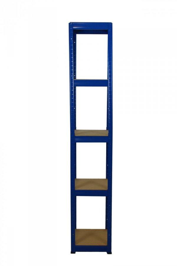 Metallregal Werkstatt Schwerlastregal Helios 213x045x45_5 Böden, Tragkraft bis 175 Kg pro Boden,  Viele Farben zur Auswahl, Quadratisch
