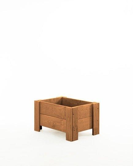 Blumenkübel aus Holz Serie RD-3-60, 30x60x30