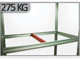 Zusatzboden 110 x 035_P zu Metallregal Helios VERZINKT und pulverbeschichtet ALLE FARBEN
