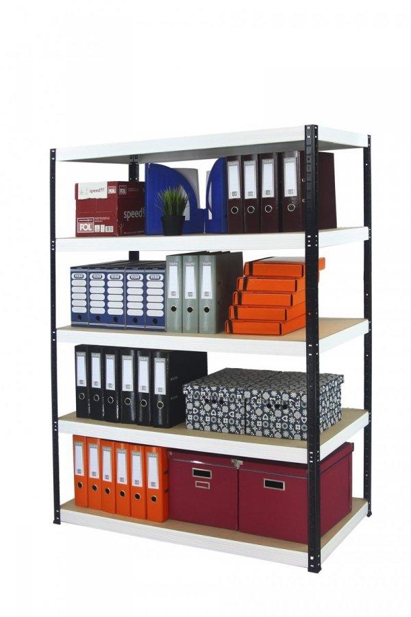 Metallregal Werkstatt Schwerlastregal Helios 180x110x50_5 Böden, Tragkraft bis 400 Kg pro Boden,  Viele Farben zur Auswahl