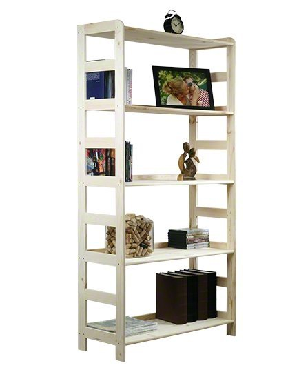 Holzregal Bücherregal R-10     166x83x33 cm