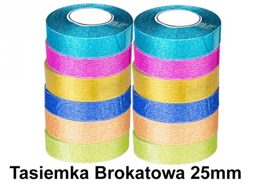 Tasiemka Brokatowa 25mm