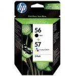 Zestaw dwóch tuszy HP 56 i 57 do Deskjet 450/5150/5550, PSC 1215   CMY/K