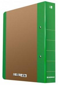 Segregator ringowy DONAU Life, A4/2RD/50mm, zielony