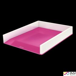 Półka na dokumenty LEITZ WOW dwukolorowa różowa 53611023