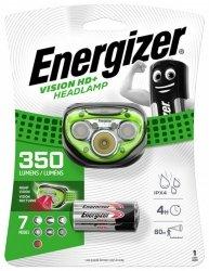 Latarka czołowa ENERGIZER Vision HD Plus Headlight + 3szt. baterii AAA, czarna