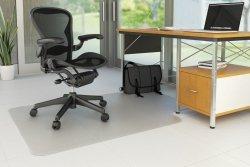 Mata pod krzesło Q-CONNECT, na podłogi twarde, 120x90cm, kształt T