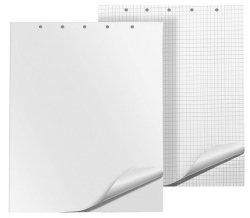 Blok do flipchartów Q-CONNECT, gładki, 65x100cm, 50 kart., biały