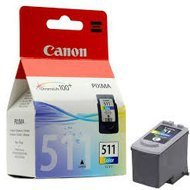 Tusz  Canon  CL511 do MP-240/260/270, MX-360 | 9ml  |  CMY