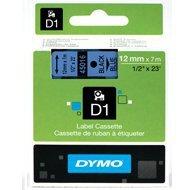 Dymo taśma do drukarek etykiet, D1 45016 | 12mm x 7m | czarny / niebieski