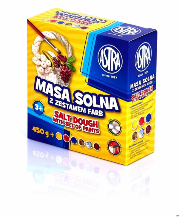 Masa solna 0.45kg z zest.farb 324109001 ASTRA