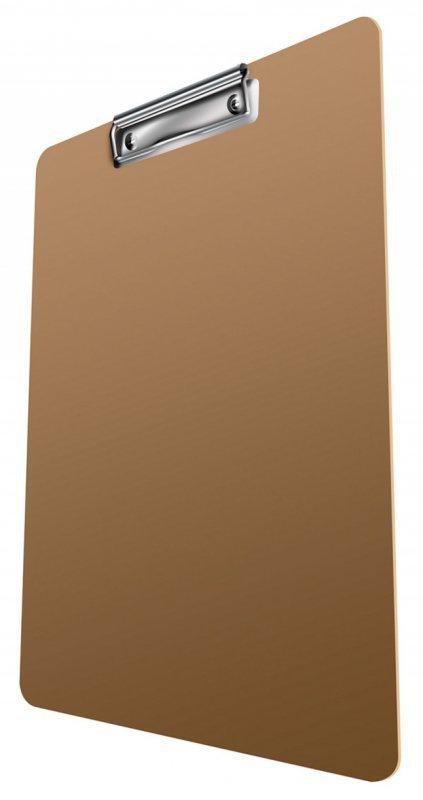 Clipboard DONAU Life, karton, A4, z klipsem, różowy