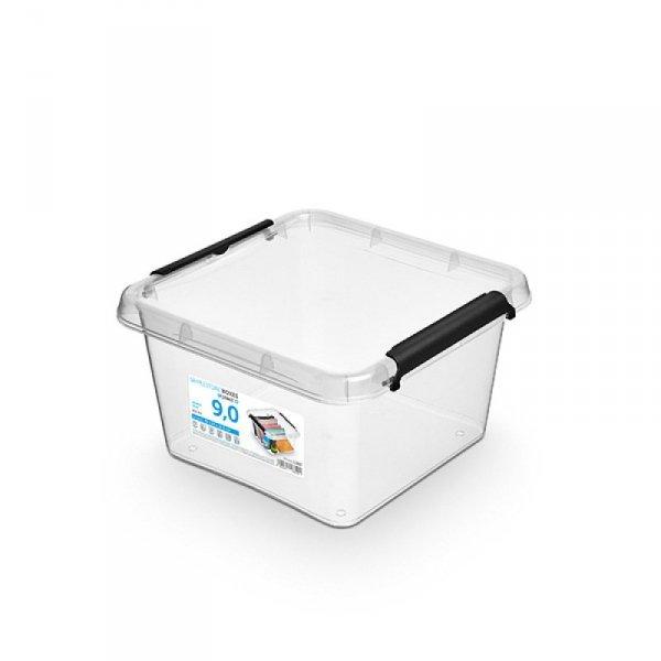 Pojemnik do przechowywania ORPLAST Simple Box, 9l, (290 x 165 x 290mm), transparentny