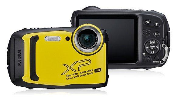 Aparat wodoszczelny FinePix XP140 żółty