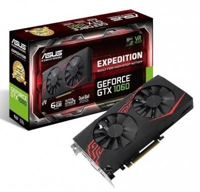 ASUS GeForce GTX 1060 Expedition 6GB GD BOX