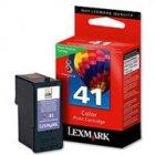 Tusz Lexmark 41 do Z1520, X-4850/6570/9575 | zwrotny | CMY