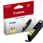 Tusz Canon CLI551Y do iP-7250, MG-5450/6350 | 7ml | yellow