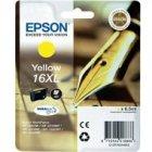 Tusz Epson T1634 XL do  WF-2520NF/2530WF/2510WF  | 6.5ml | yellow
