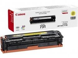 Toner oryginalny Canon 731 yellow LBP-7100C LBP-7110C 1,5 tys. CRG731Y